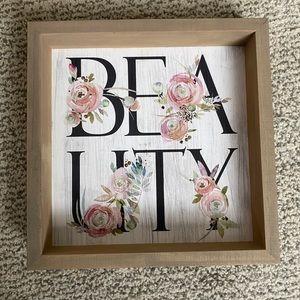 Beauty Sign